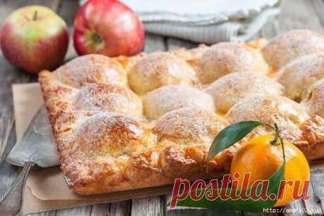 Как сделать необычный яблочный пирог | Делимся советами