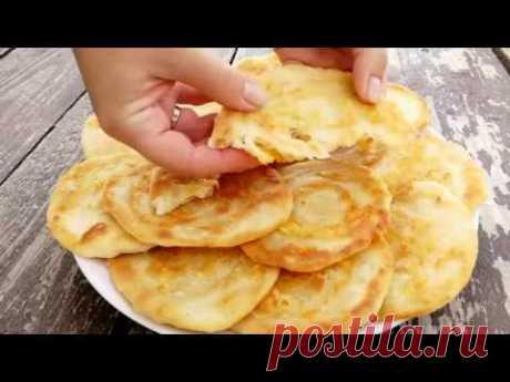 Сметут со стола за минуту! Быстрые лепешки за 10 минут на сковороде - topovoye.ru