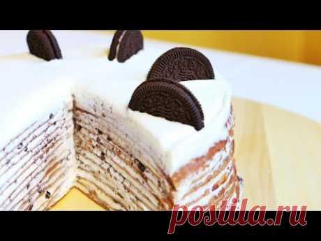PANCAKE OREO cake | How to prepare