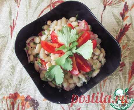 Турецкий фасолевый салат – кулинарный рецепт