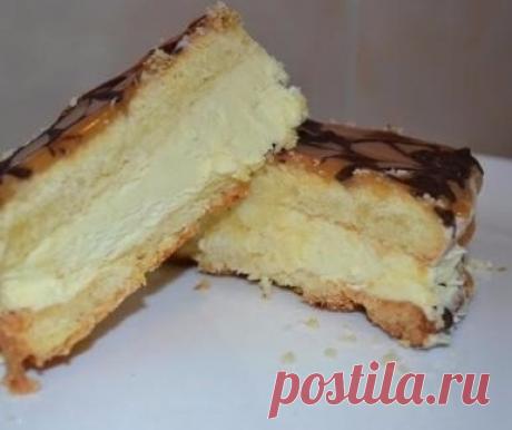 """Польский торт """"Коровка"""" — Лучшие рецепты"""