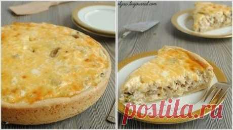 Как приготовить лоранский пирог с курицей и грибами - рецепт, ингредиенты и фотографии