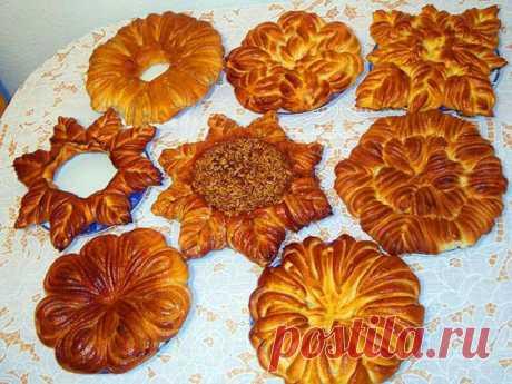 Valentina Zurkan делится своим методом по оформлению пирогов и булок