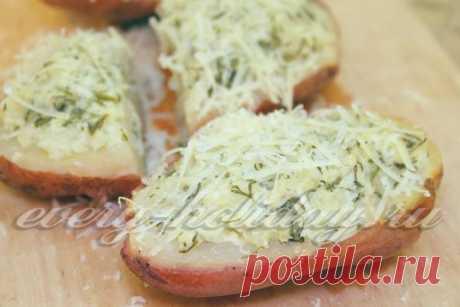 Лодочки из картошки в мундире с начинкой в духоке, рецепт с фото