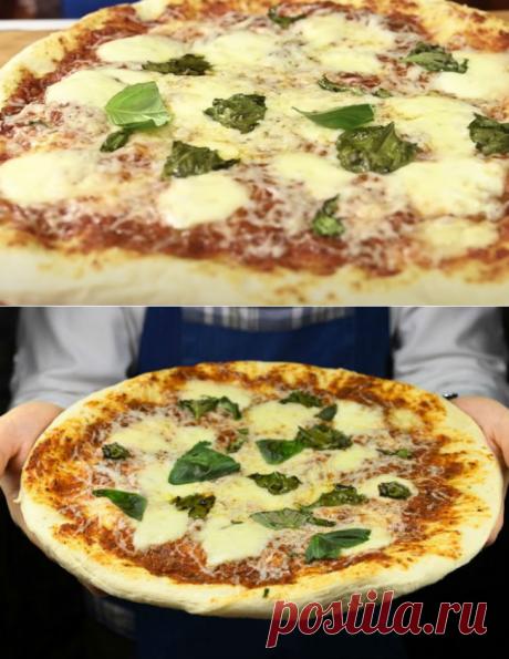 Настоящая Маргарита на тонком тесте: готовим пиццу по совету итальянца