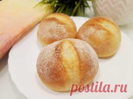 Французские Хлебные Булочки с Хрустящей Корочкой.✧ Замечательно для Завтрака.