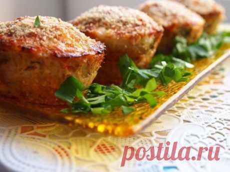 Мясные кексы с рисом — Sloosh – кулинарные рецепты