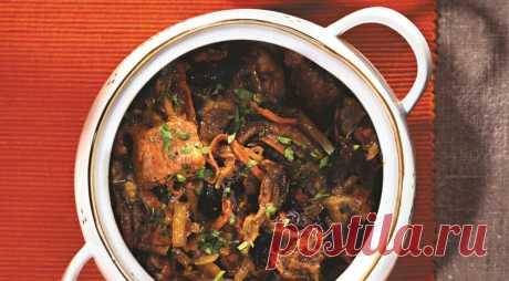 Капустная солянка со свининой, пошаговый рецепт с фото