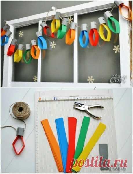 100 Лучших новогодних поделок из бумаги для детей | Мама и малыш | Яндекс Дзен