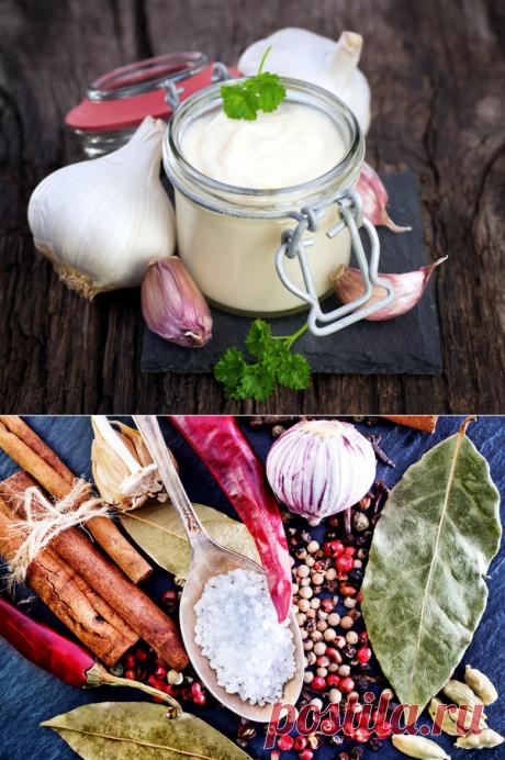 Вкуснейшие чесночные рецепты