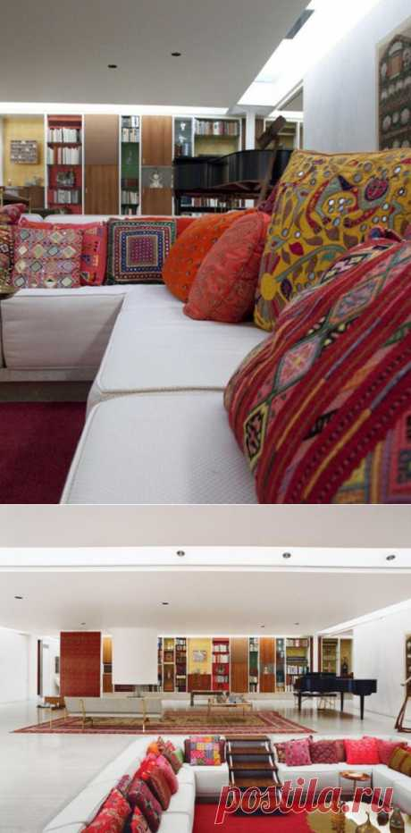 Подушки в османском стиле