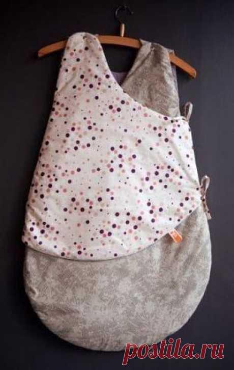 Спальный мешок для новорожденного. / Вязание как искусство!