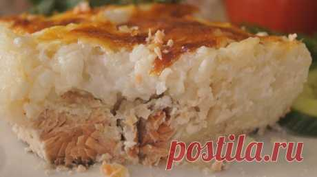 Рыбная запеканка с нежнейшим рисом. Вкуснейший ужин за 40 минут - Простые рецепты Овкусе.ру