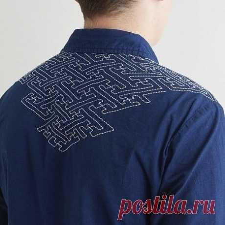 Японская вышивка сашико — DIYIdeas