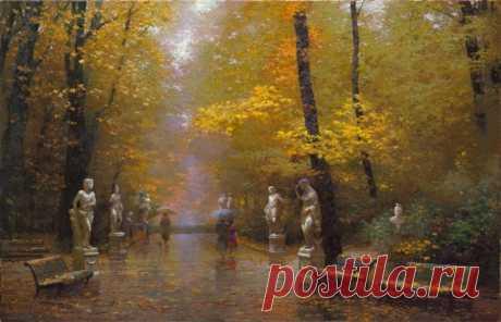 «Ожившие сказки»: удивительные картины Виктора Низовцева, наполненные волшебством!