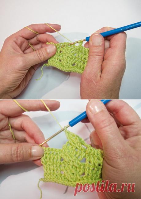 Уроки вязания: как вязать «косу» крючком…
