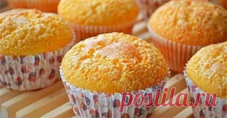 Вкусные и нежные творожные кексы быстрого приготовления Такие кексы получаются нежными и очень-очень вкусными!