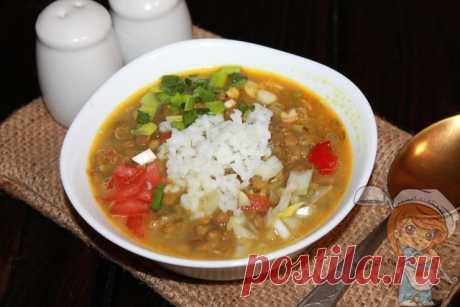 Суп с чечевицей и рисом Мазур дал. Индийский вегетарианский суп! Вегетарианский рецепт Мазур дал – вкусный суп с чечевицей и рисом. В составе помидоры, острый перец, лук, чеснок и много специй. Получается яркое блюдо