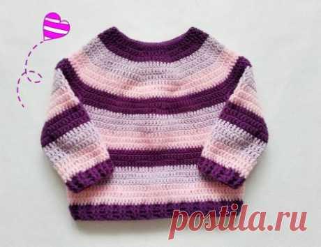 Кофты, жакеты, свитера для детей крючком » «Хомяк55» - всё о вязании спицами и крючком