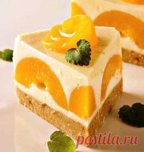 Торт йогуртовый без выпечки - Простые рецепты Овкусе.ру