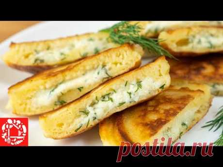 Самые вкусные Оладьи с Начинкой а-ля Хачапури!
