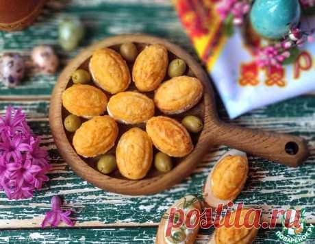 Куриные орешки с брынзой и оливками – кулинарный рецепт