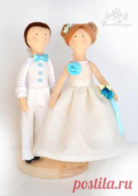 Не забывающийся подарок на свадьбу своими руками. Свадебная парочка.