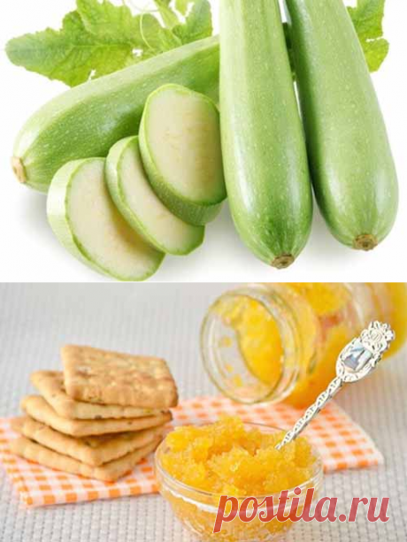 Vegetable marrows jam - 4 options