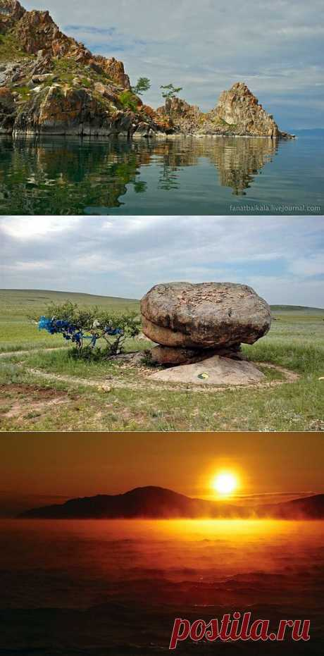 Mysticism and riddles of Baikal \/ Tourist satellite