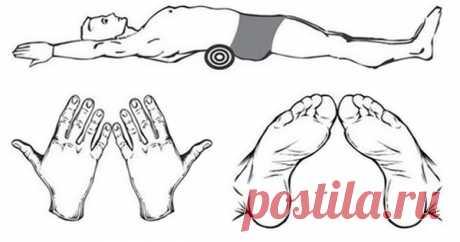 Этот легкий трюк избавит от боли в спине, улучшит осанку и уменьшит живот! За 5 минут.