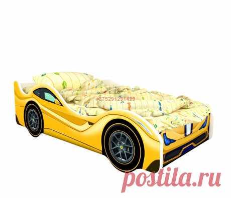 Кровать-машинка Классик Феррари: купить в Минске недорого, низкие цены, скидки, рассрочка