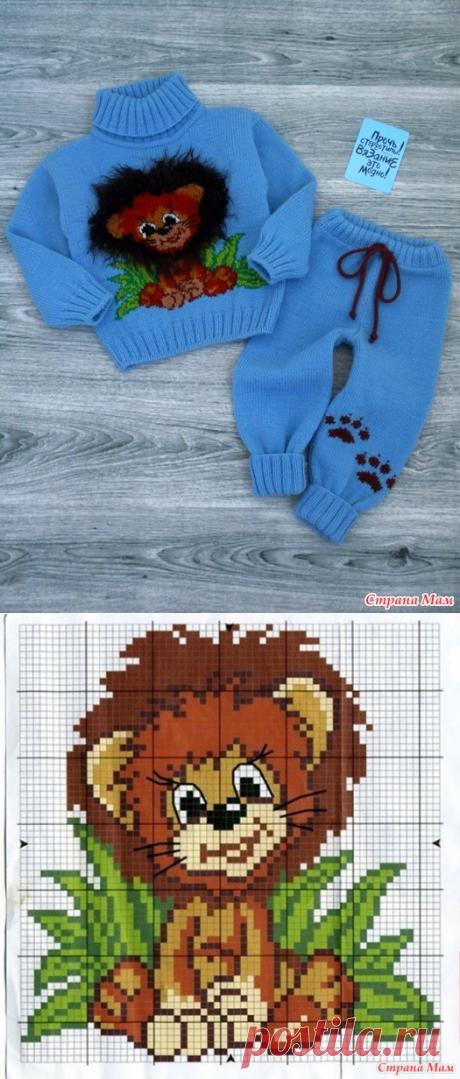 Костюмчик для малыша - Вязание - Страна Мам