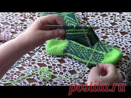 Носки, которые все хотят связать рисунок ёлочка