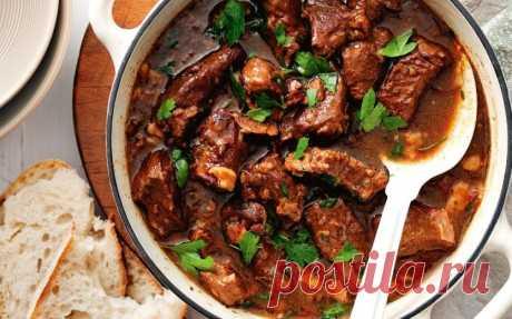 Готовим вкусную говядину по-тунисски - Великий повар - пошаговые фоторецепты