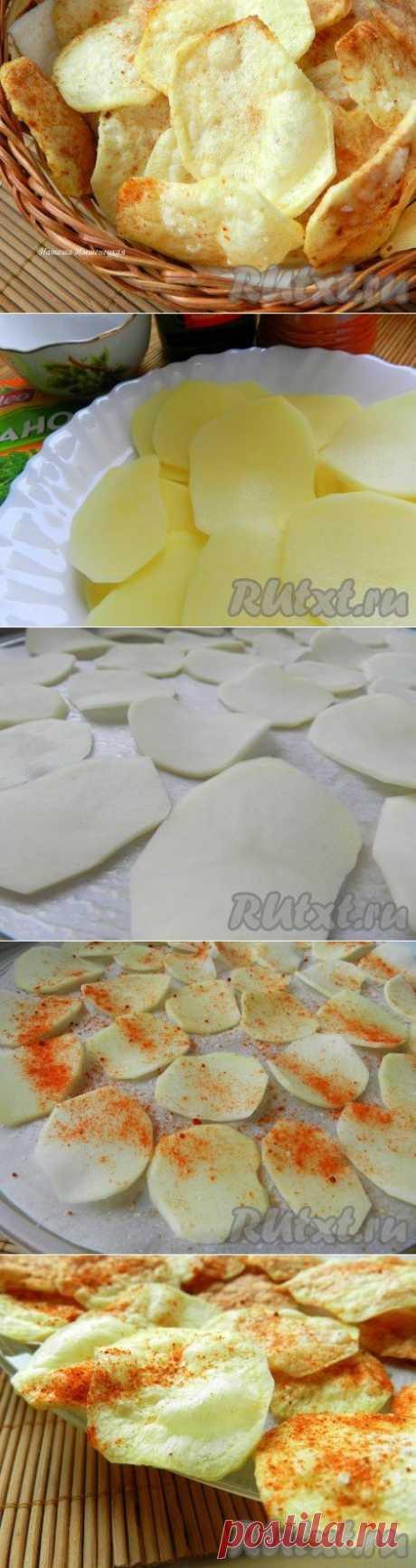 Как приготовить чипсы в микроволновке (рецепт с фото) | RUtxt.ru