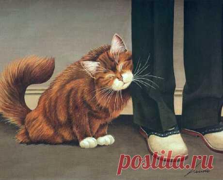 Lowell Herrero. ***Cats