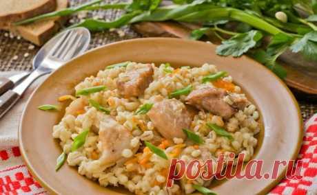 Из обычной перловки готовлю вкусное итальянское блюдо, которое считается деликатесом. Делюсь рецептом   Книга Рецептов  