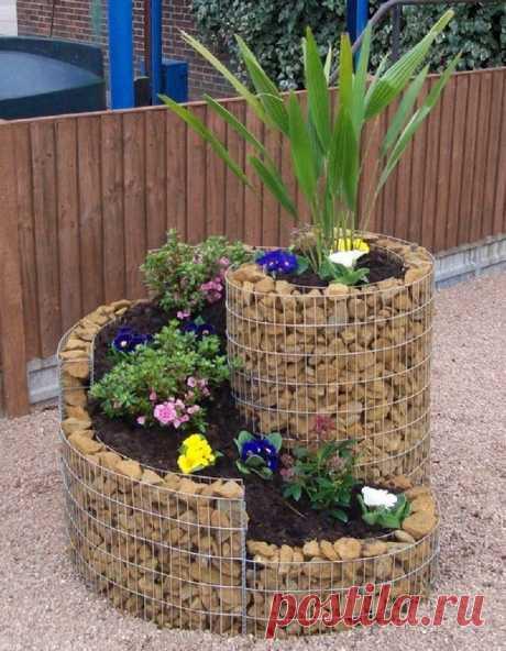Вот как я создала сад камней и цветов всего за неделю! Подсмотрела у подруги, опытной садовницы, этот роскошный способ. — Копилочка полезных советов