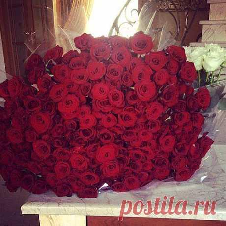 Море цветов))
