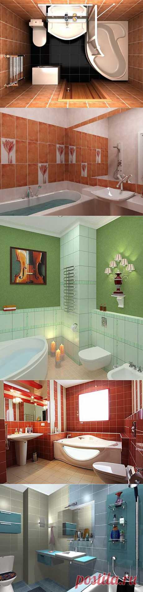 22 идеи для ремонта ванной комнаты