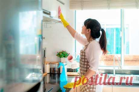 Как ичем отмывать кухонные шкафы: 7 лайфхаков