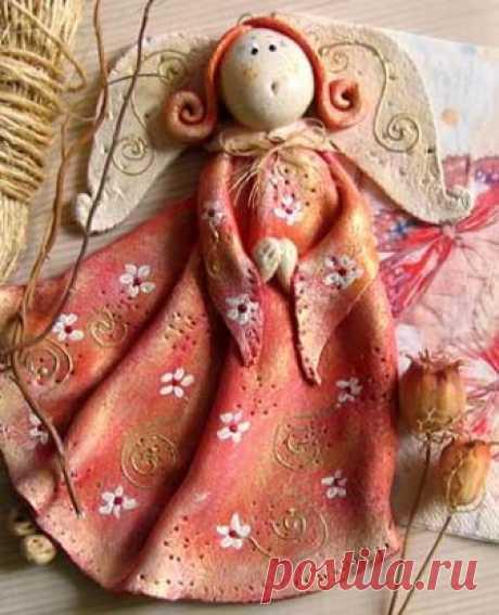 Великолепные поделки из солёного теста Сейчас снова стало модно заниматься творчеством.