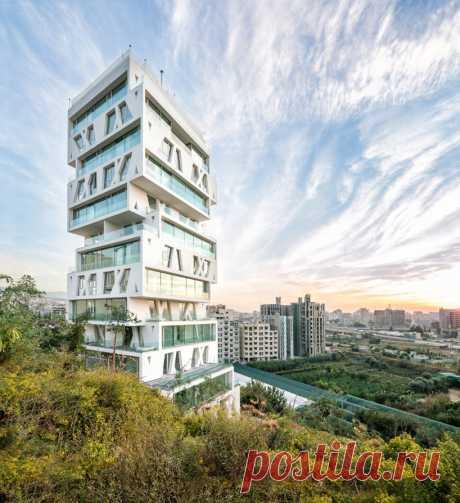 Дом-башня со сдвинутыми этажами в Бейруте (Интернет-журнал ETODAY)