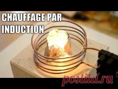 Tout sur le chauffage par induction - Forge faite maison