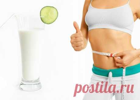 Кефирно-огуречная диета для похудения - Стильные советы