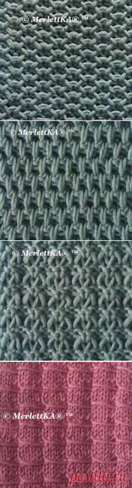 Вязание спицами ☆ Фанговые узоры