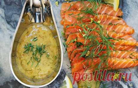 Шведский горчичный соус к рыбе