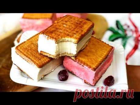 "Мороженое ""сливочный пломбир"" за 5 минут ДОМАШНИЙ РЕЦЕПТ"