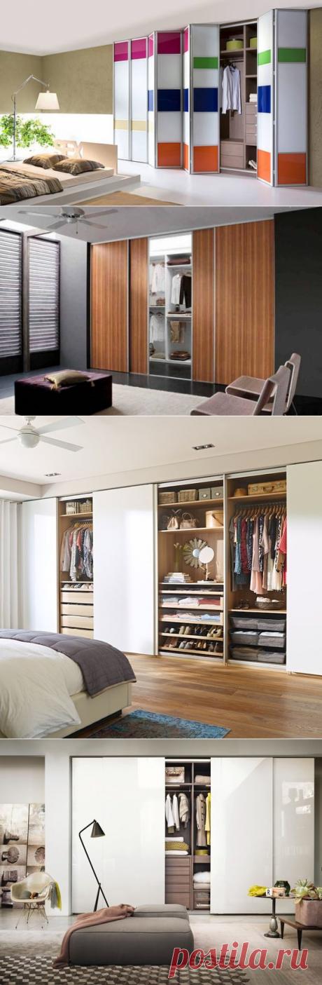 Гардеробные с раздвижными дверями — Pro ремонт