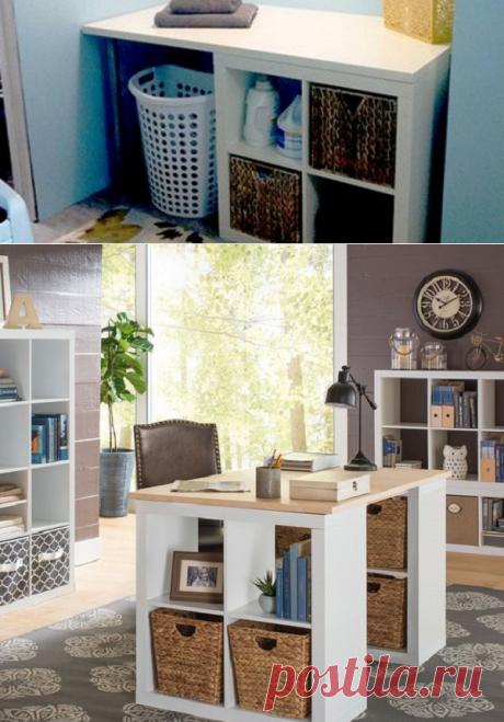 Так нужно использовать квадратные полки: эти 12 идей изменили всё в моем доме!